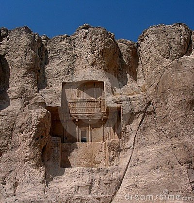 Royal tomb at Naghs-é Rostam ,Iran