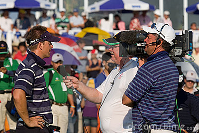 Royal Trophy golf tournament, Asia vs Europe 2010 Editorial Stock Image