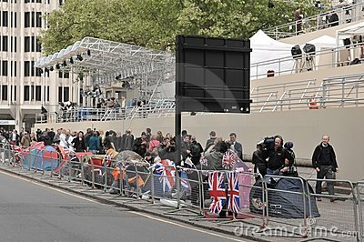 Royal wedding/London/27,04,2011 Editorial Photo