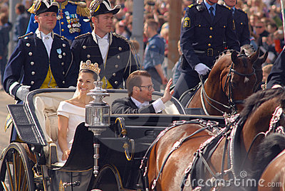Royal Wedding in Sweden Editorial Photography