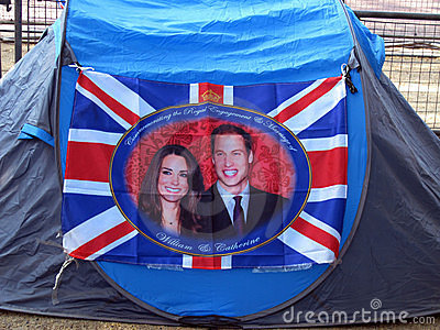 Royal wedding tent Editorial Photography