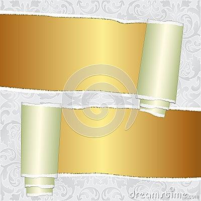 Rozdzierająca tapeta