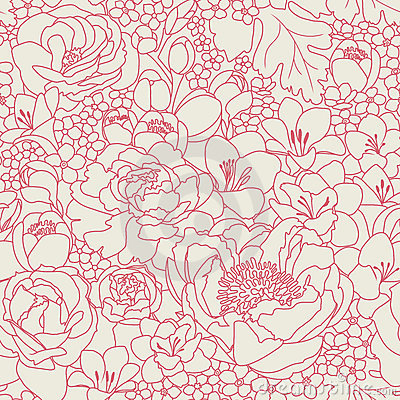 Roze seanless patroon