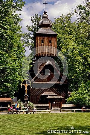 Roznov pod Radhostem village (UNESCO monument)