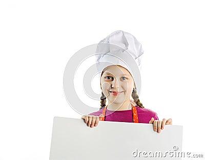 Rozochocony szef kuchni