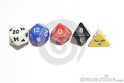 RPG dice