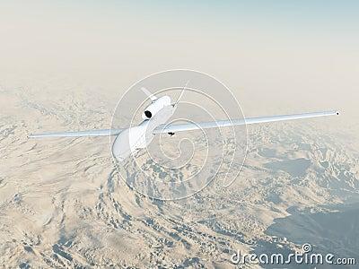 RQ-4A Global Hawk in Flight