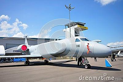 RSAF Gulfstream G550-AEW military aircraft Editorial Photography