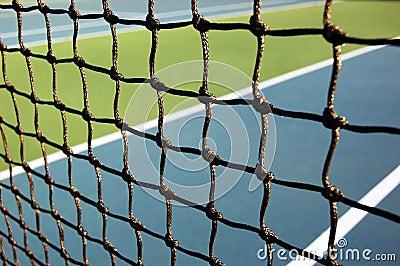 Réseau de tennis