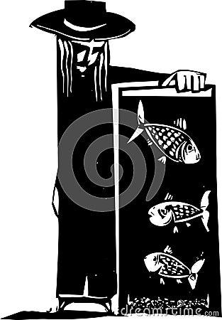 Réservoir de poissons
