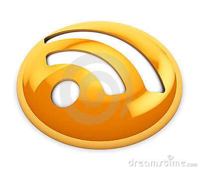 Rss icon Editorial Stock Image