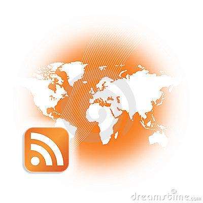 RSS Podcast Broadcast Logo