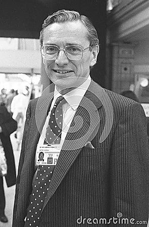 Rt.Hon. Norman Fowler Editorial Stock Photo