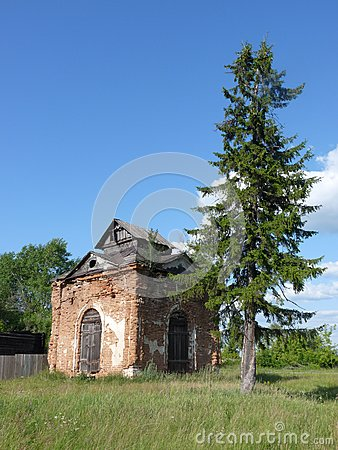Ruína da capela
