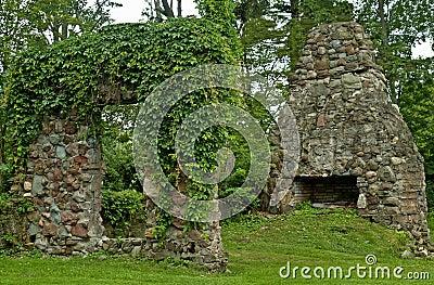 Ruínas da pedra