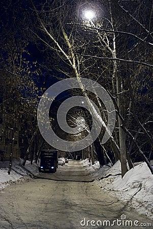 Rua da noite