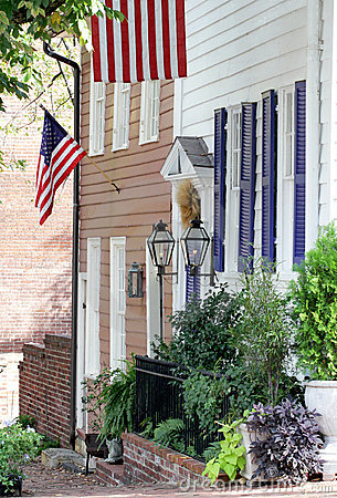 Rua em Alexandria, Virgínia