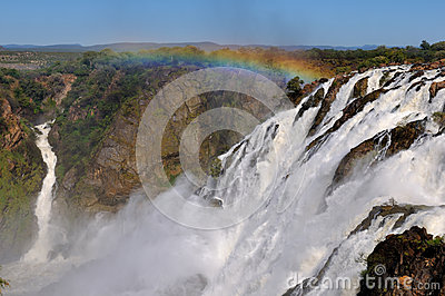 The Ruacana waterfalls, Namibia