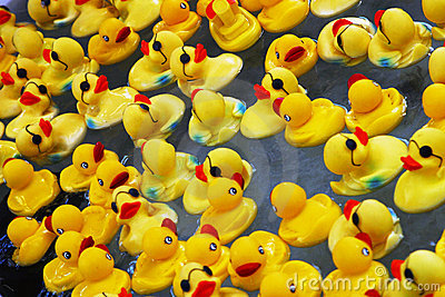 Rubber Ducks Editorial Photography