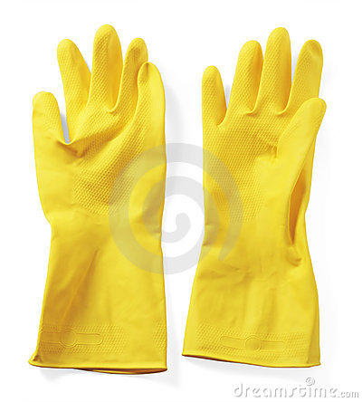 Free Rubber Gloves Royalty Free Stock Photos - 8554248