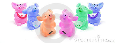 Rubber Pigs