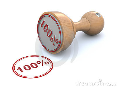 Rubber stamp - 100