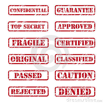 Free Rubber Stamp Royalty Free Stock Image - 17755386