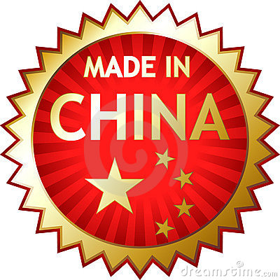 Rubber stamp - Made in China