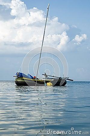 Rubbery boat