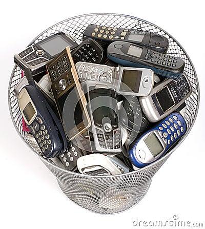 Free Rubbish Bin Stock Image - 8422661