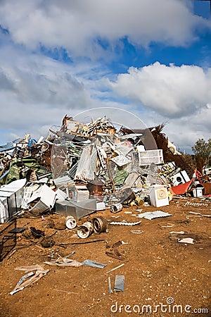 Free Rubbish Dump Portrait Royalty Free Stock Photos - 6565738