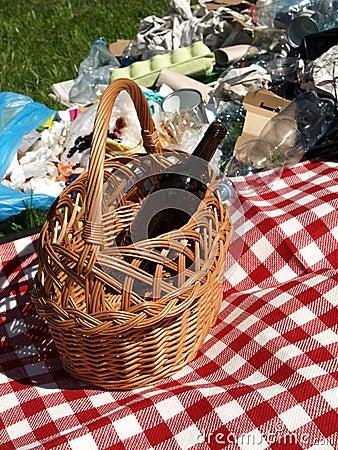 Rubbish recycling