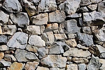 Rubble Rock Wall
