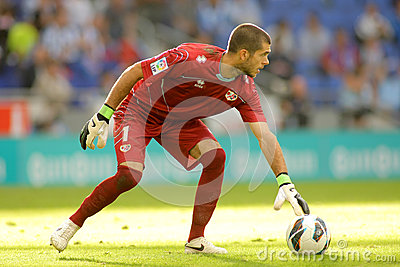 Ruben Ivan Martinez of Rayo Vallecano Editorial Stock Image