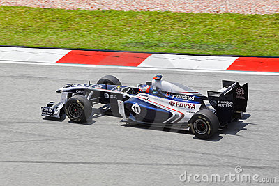 Rubens Barrichello (team Williams) Editorial Stock Image