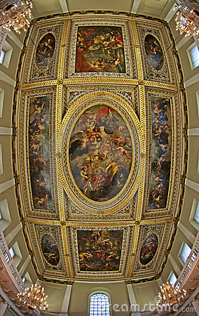 The Rubens Ceiling, Banqueting House Editorial Image