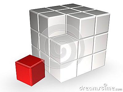 Rubik cube Editorial Stock Image