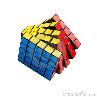 Rubik cube Editorial Stock Image
