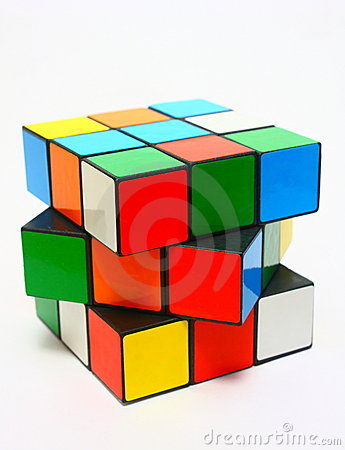 Rubik s Cube Editorial Photo