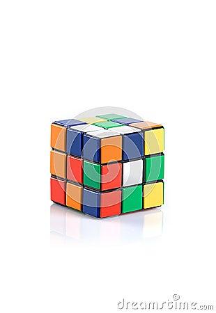 Rubik s Cube Editorial Stock Photo