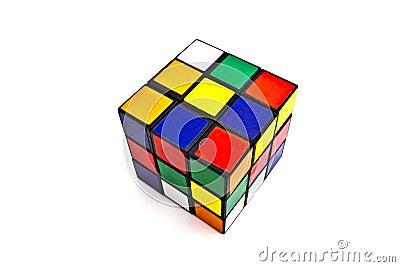 Rubik s Cube Editorial Stock Image