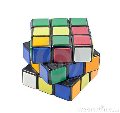 Rubik s cube Editorial Photo