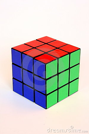 Rubik s cube Editorial Stock Photo