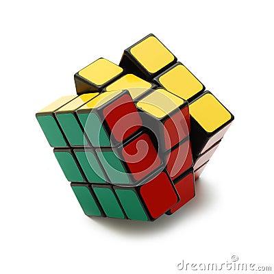 Rubik s cube Editorial Image