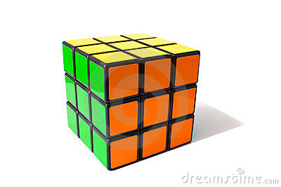 Rubik  s cube classic Editorial Photo