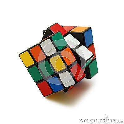 Free Rubik S Cube Isolated Stock Photo - 10055460