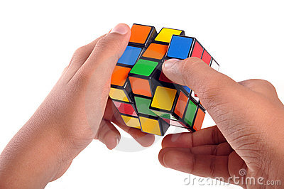 Rubiks cube Editorial Stock Image