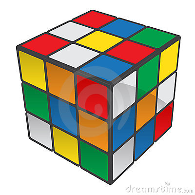 Rubiks Cube Editorial Photo