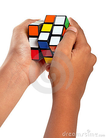 Rubiks cube Editorial Photography