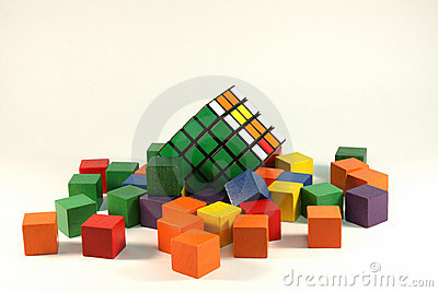 Rubiks cube Editorial Stock Photo